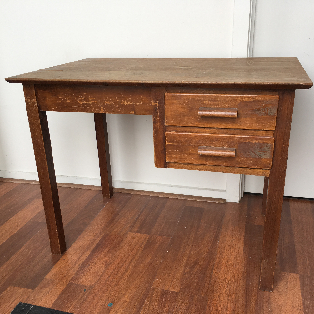 DES0014 DESK, Timber 2 Drawer - 90cm x 60cm $45