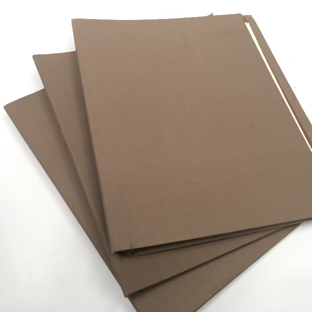 FOL0101 FOLDER, Beige Fabric $2.50