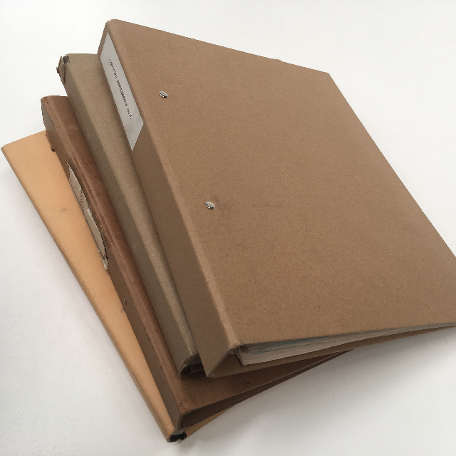 FOL0103 FOLDER, Brown Paper Covered $3