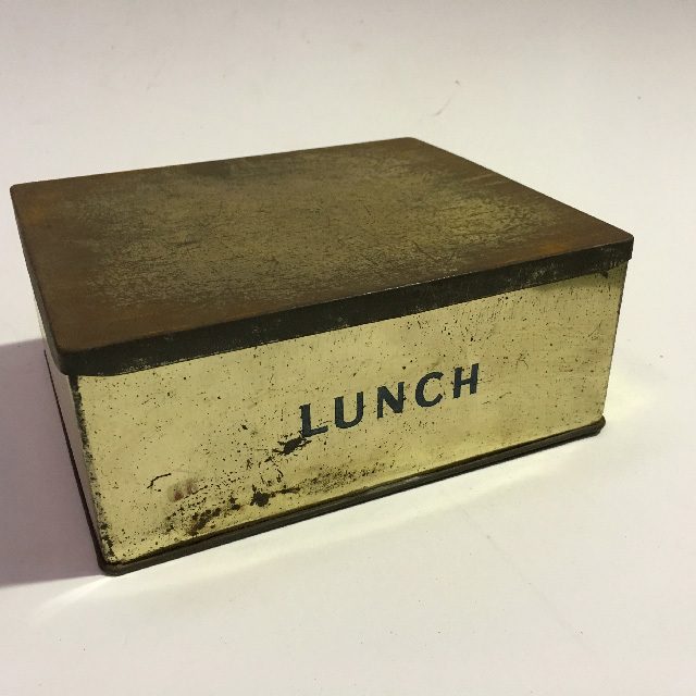 LUN0004 LUNCH BOX, Metal Lunch $10