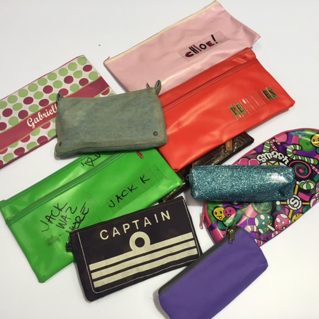PEN0045 PENCIL CASE, Assorted $3