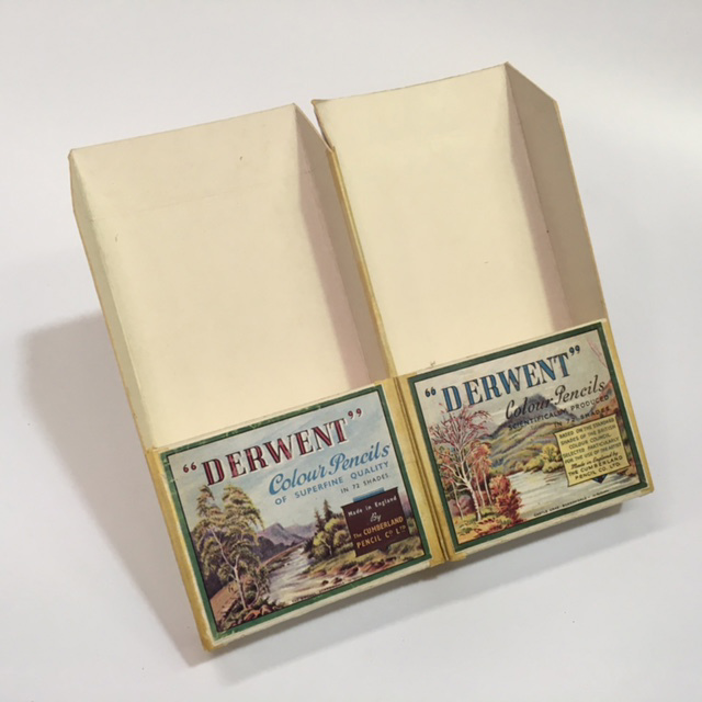 PEN0048 PENCIL PACKAGING, Derwent Double Box $10
