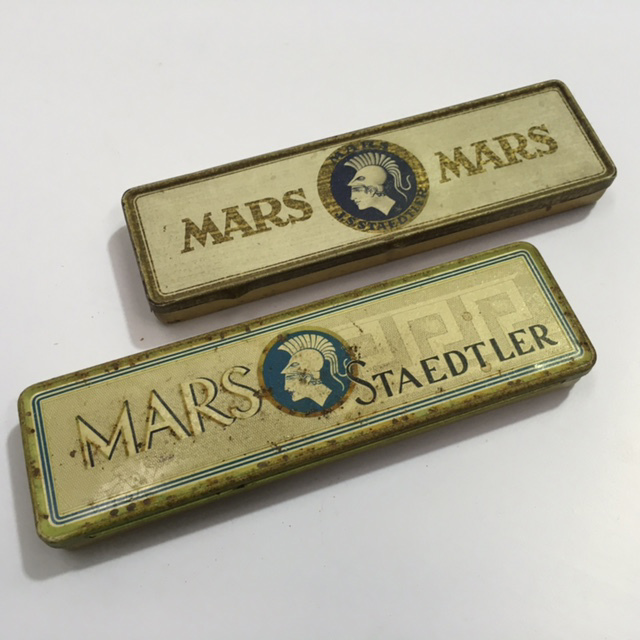 PEN0050 PENCIL TIN, Mars $6.25