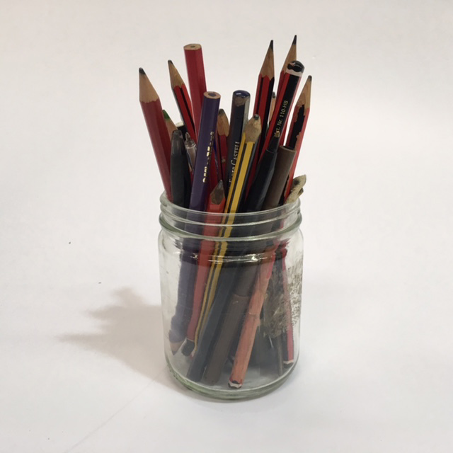 PEN0041 PENCIL CADDY, Jar $3.75