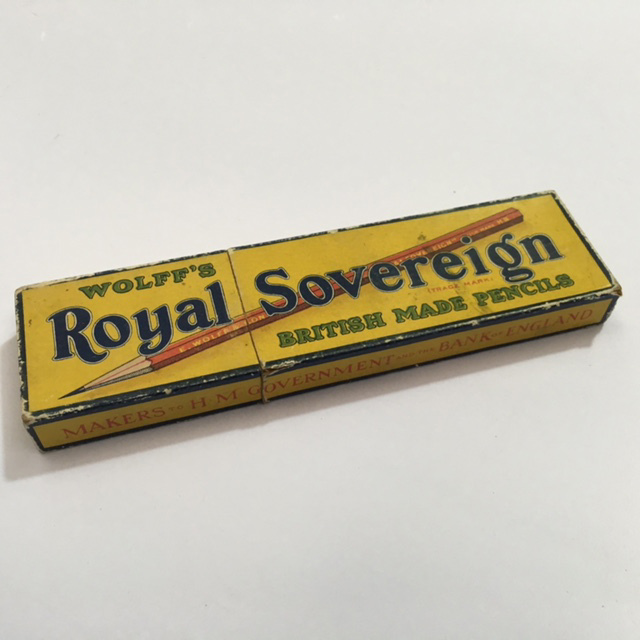 PEN0057 PENCILS, Box Of Royal Sovereign $6.25