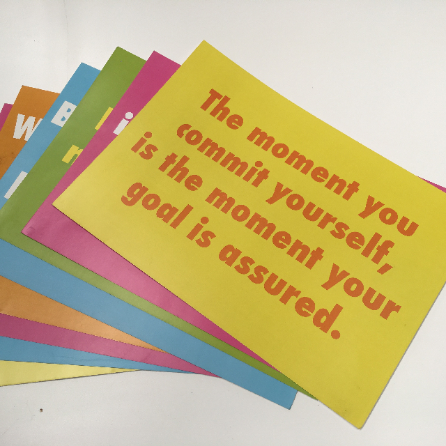 POS0010 POSTER, Encouragement Set $2.50
