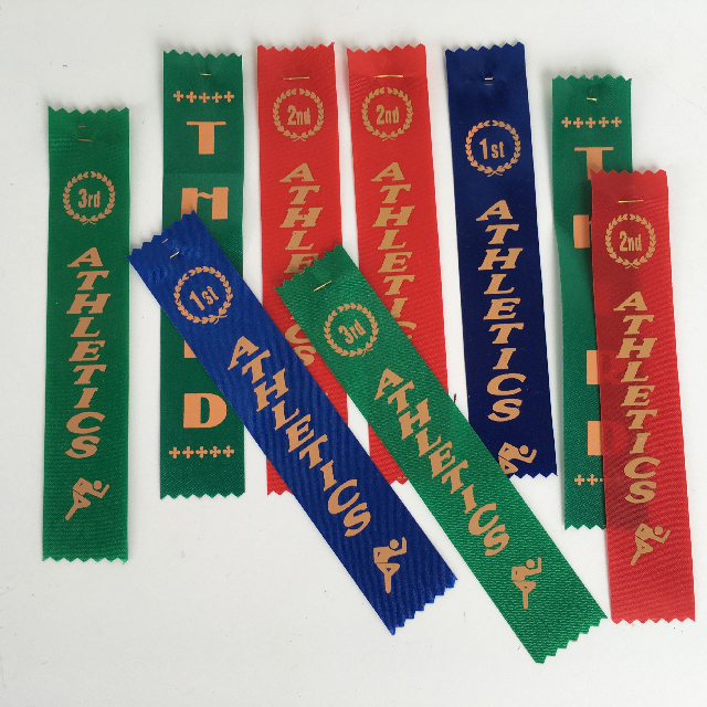 AWA0016 AWARD RIBBON,  School Athletics $1.25