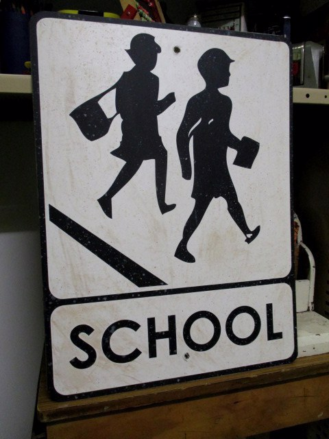 SIG0055 SIGN, School - Children Crossing $15