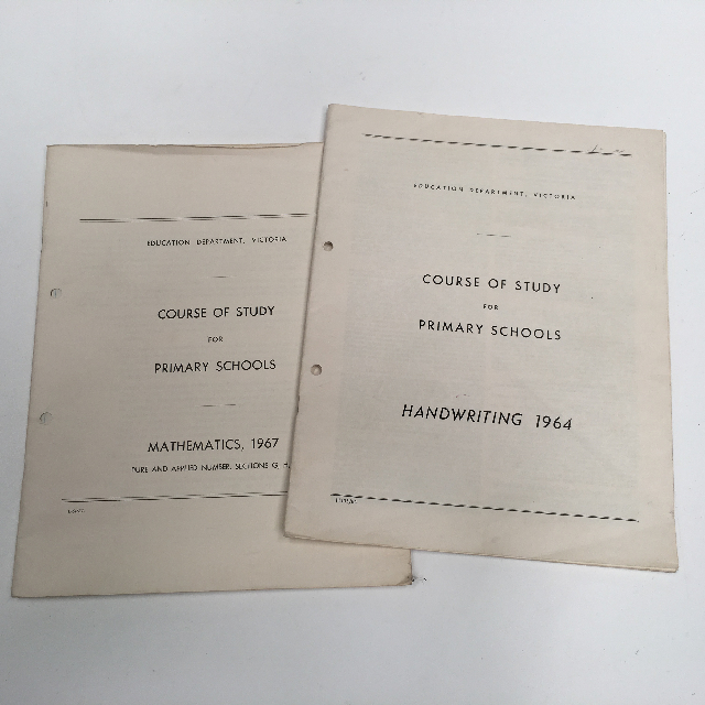 TEA0103 TEACHING AIDS, School Study Guide 1960s $3.75