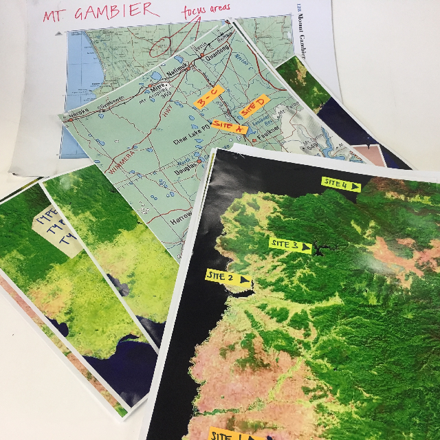 MAP0010 MAP, Satellite Image & Other Science Related $2.50