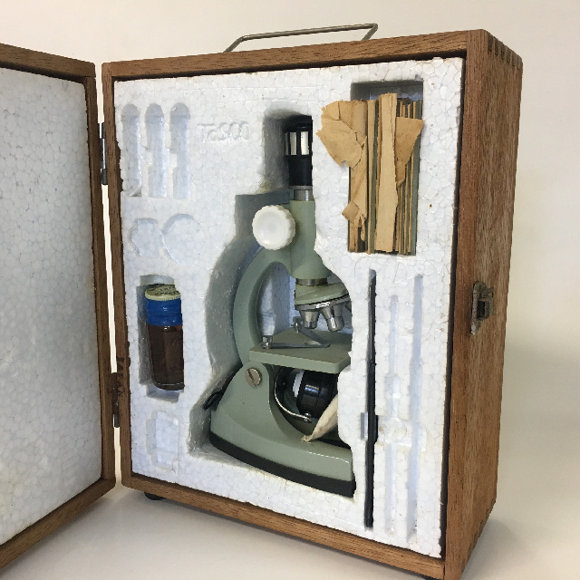 MIC0006 MICROSCOPE, Boxed Set $25