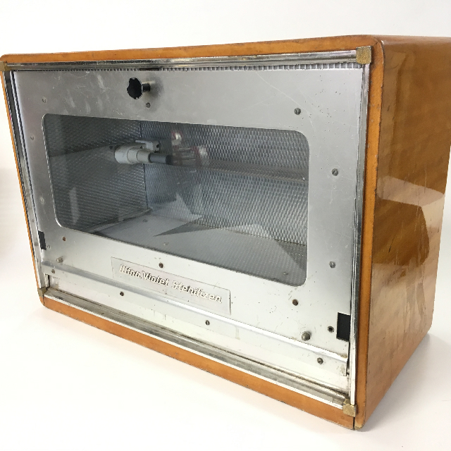 MED0057 MEDICAL EQUIPMENT, Steriliser Unit - Wooden Cabinet $30