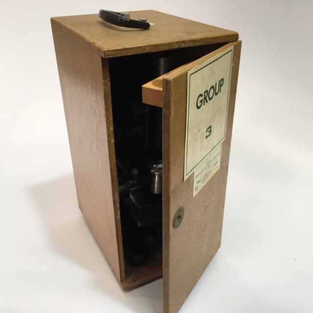 MIC0002 MICROSCOPE BOX, (Box Only) $7.50