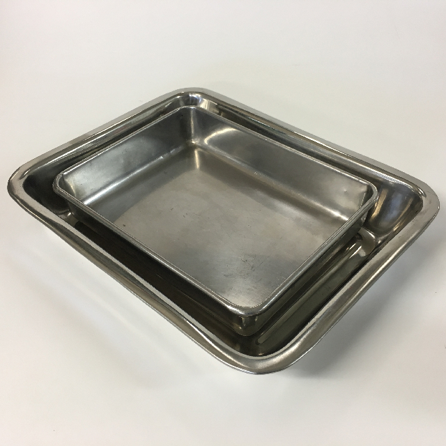 TRA0021 TRAY, Stainless Steel - Medium Deep $6.25