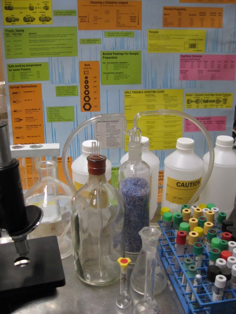 Event Styling - Science Lab Propping