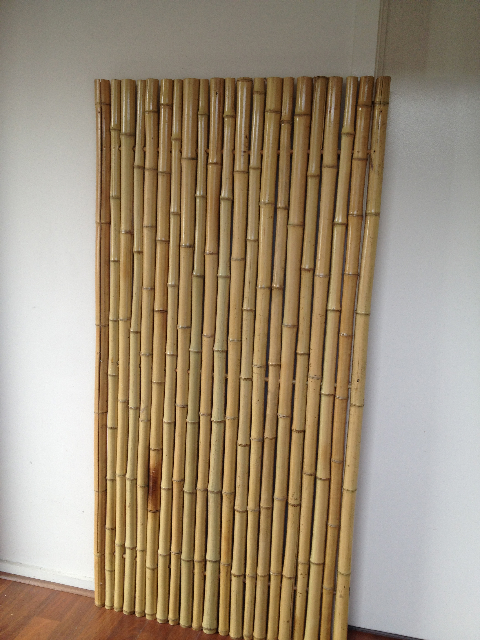 SCR0001 SCREEN, BAMBOO 1.8m x 1m (4cm Dia. Bamboo Poles) Not Freestanding $45