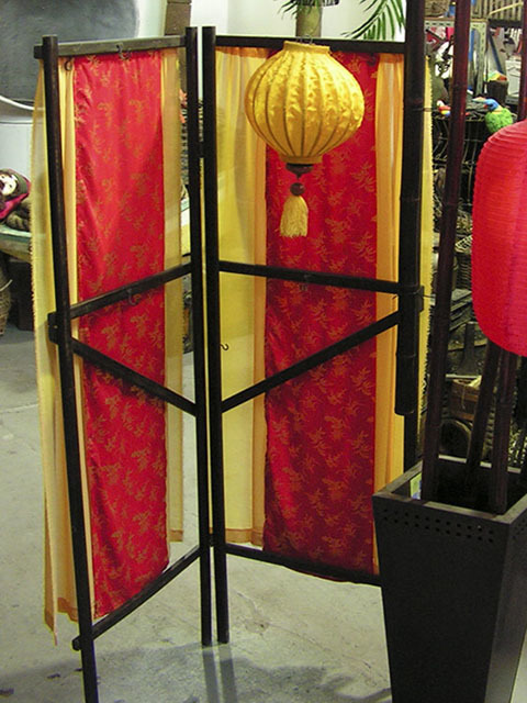 FAB0023 FABRIC INSERT, Chinese Style - Reversible Red & Gold $10 (Option 2)