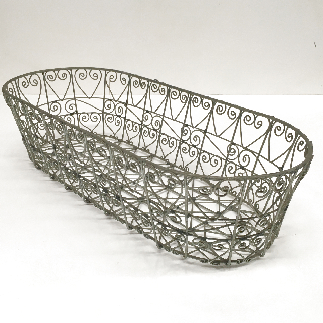 BAS0150 BASKET, Wire Bread Basket $7.50