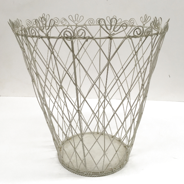 BAS0151 BASKET, Wire Cream Bin $7.50