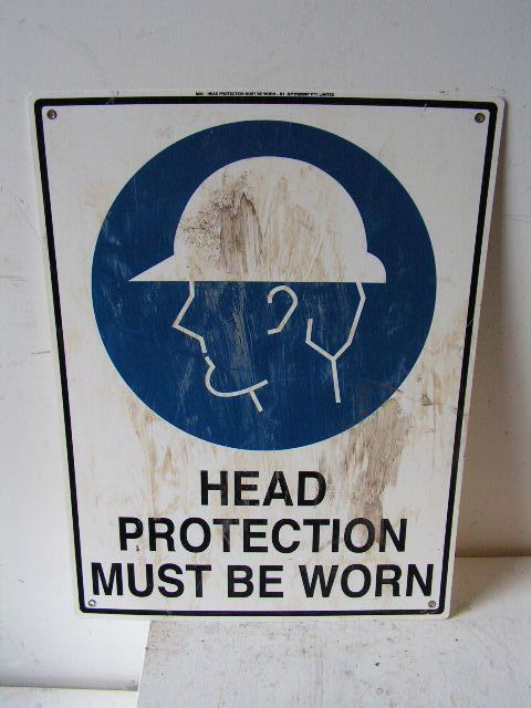 SIG0321 SIGN, Construction - PPS Head Protection $11.25
