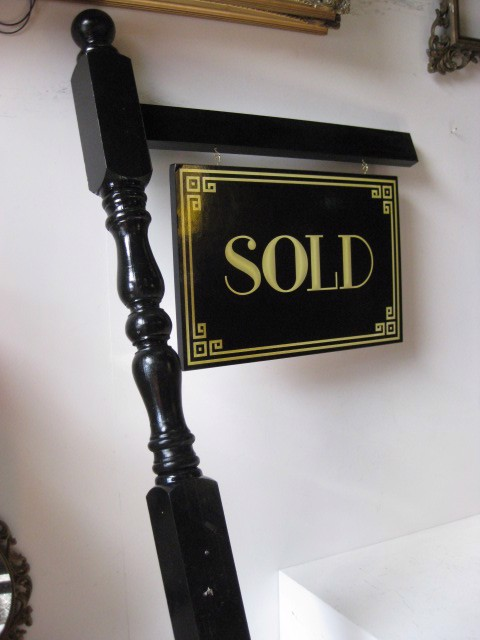 SIG0027 SIGN, Real Estate Sold Sign Post  $87.50