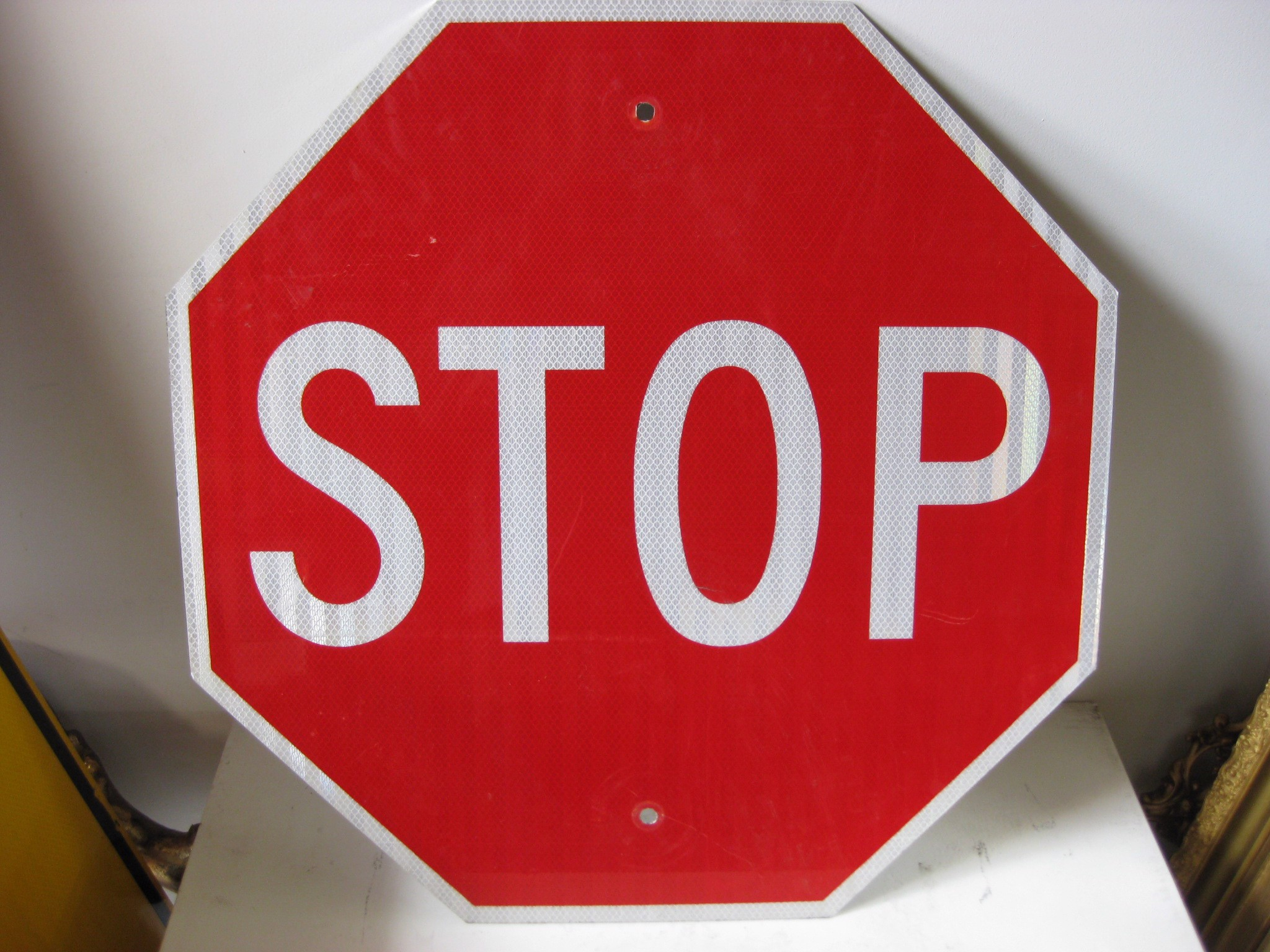 SIG0353 SIGN, Road Sign - Stop Reflector $22.50