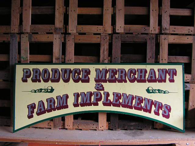 SIG0067 SIGN, Store - Produce Merchant $45