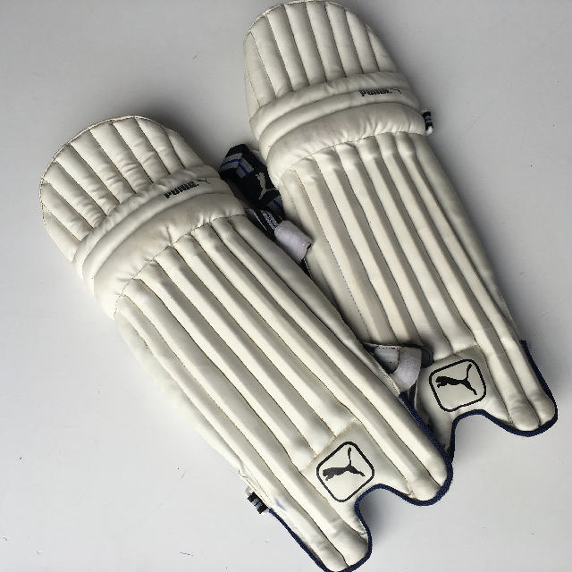 CRI0009 CRICKET, Batting Pads - Adult Leather Look $15