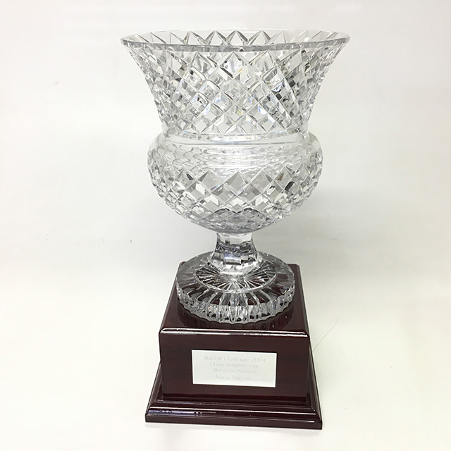 TRO0015 TROPHY, Large 42cm Crystal $45