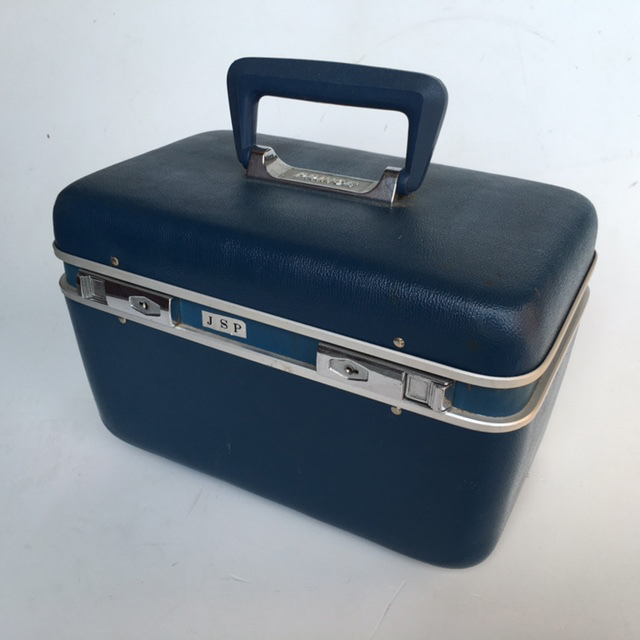 BEA0009 BEAUTY CASE, Blue Hardcase JSP $12.50