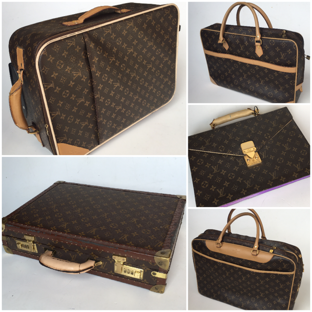 Louis Vuitton Set of Luggage & Briefcases $18.75 - $22.50 per bag