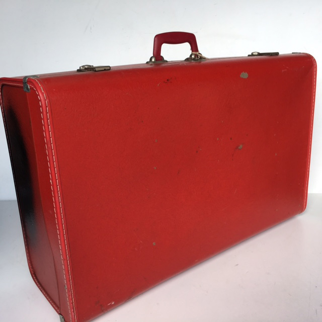 SUI0021 SUITCASE, Large Red Everlite - 1950-60s $22.50