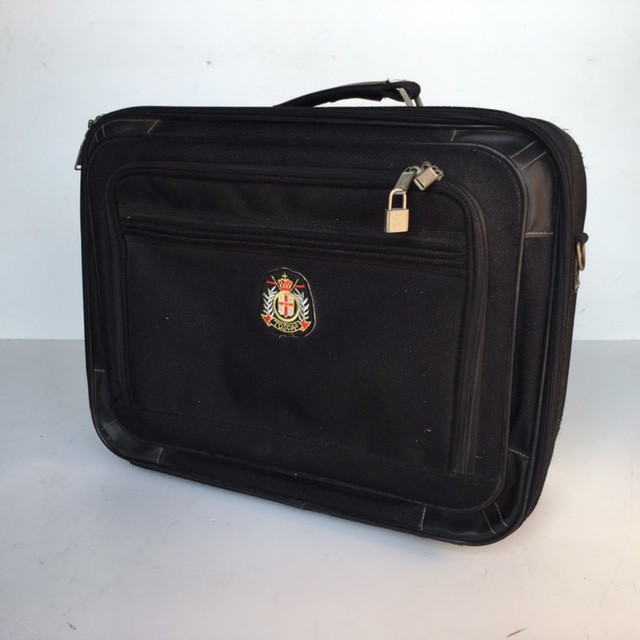 SUI0057 SUITCASE, Cabin Bag - Black Tosca $12.50