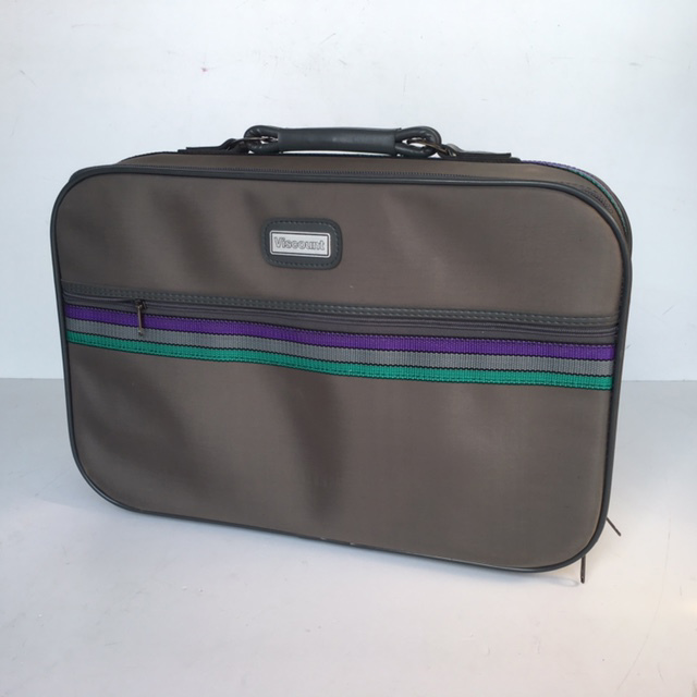 SUI0063 SUITCASE, Cabin Bag - Grey Viscount $12.50