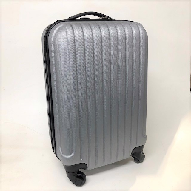 SUI0154 SUITCASE, Cabin Bag - Grey Hard Case $18.75