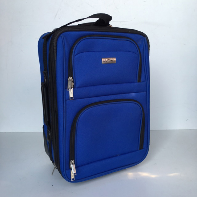 SUI0066 SUITCASE, Cabin Bag - Royal Blue Lunar $18.75