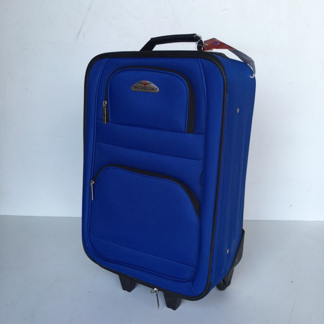 SUI0067 SUITCASE, Cabin Bag - Royal Blue Travelway $18.75