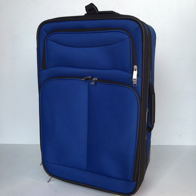 SUI0086 SUITCASE, Medium Royal Blue Soft Case $18.75