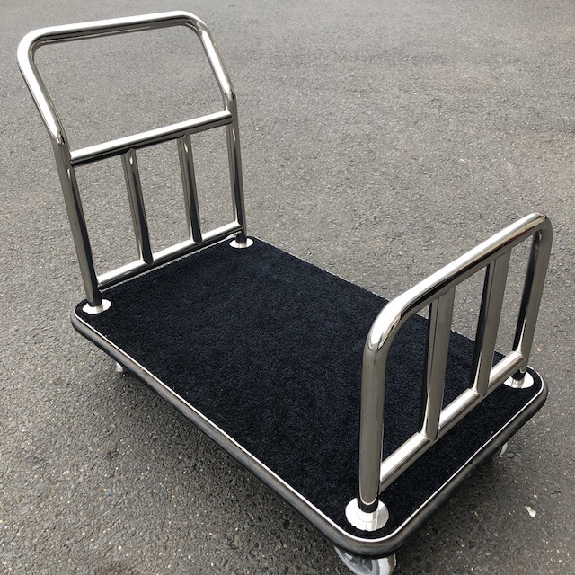 TRO0125 TROLLEY, Luggage Trolley - Chrome Handle $62.50