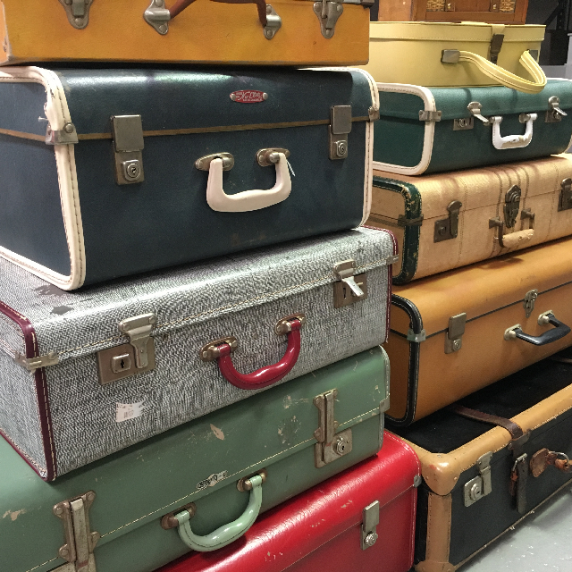 Event Styling - Vintage Cases (Asian selection)