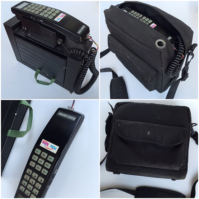 PHO0002 PHONE, Mobile 1980s Style 1 in Canvas Case $37.50