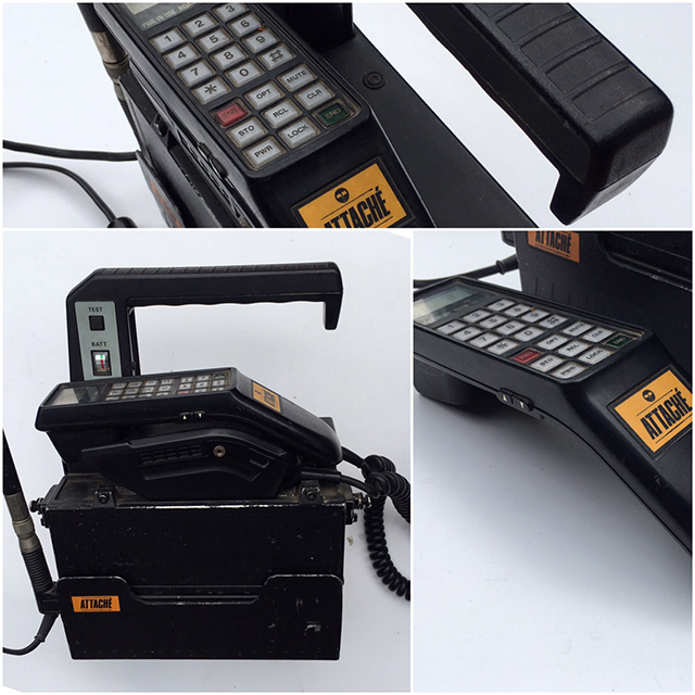 PHO0003 PHONE, Mobile 1980s Style 2 Telecom Attache $37.50