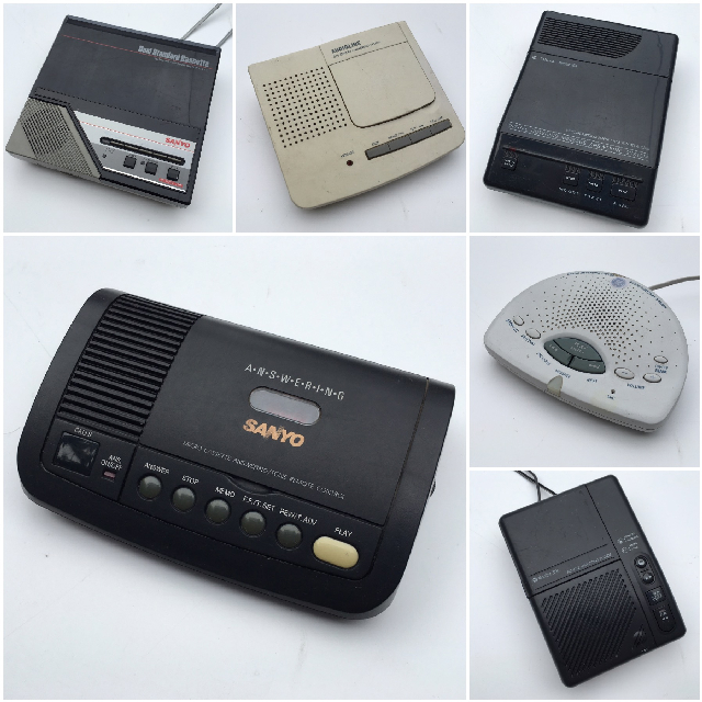 PHO0250 PHONE, Answering Machine Assorted $15
