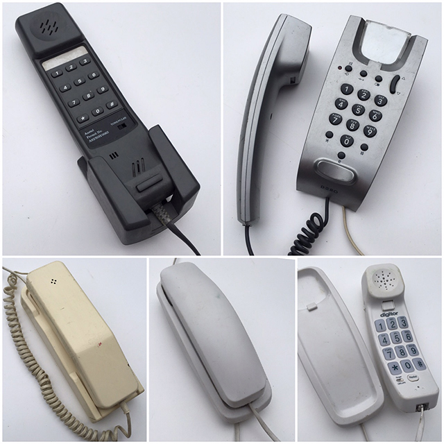PHO0159 PHONE, Telephone Wall Mounted Assorted $18.75