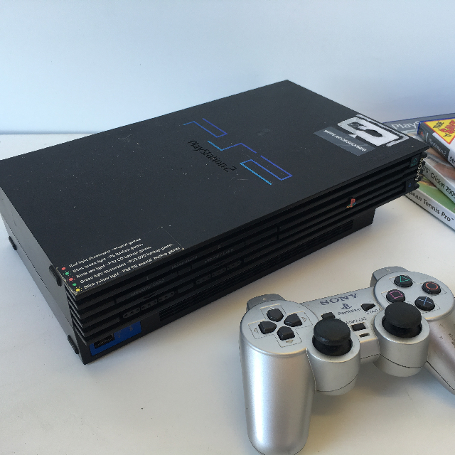 VID0006 VIDEO GAME CONSOLE, Playstation 2 Black (Working) $30