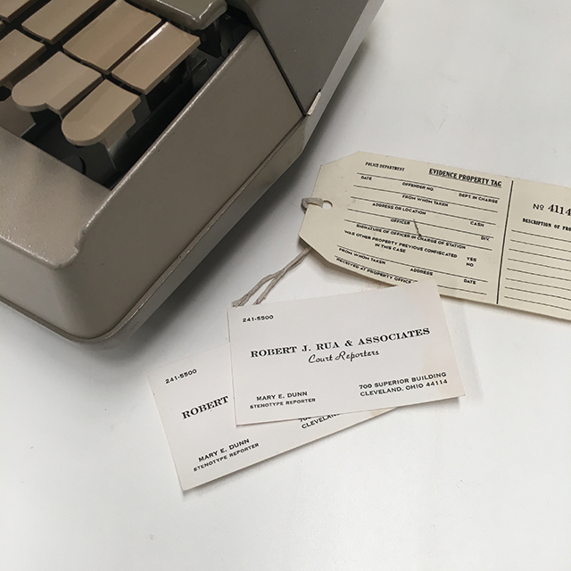 Court Reporter Cards