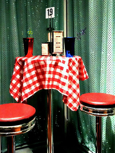Event Styling - 1950's American Diner Setup