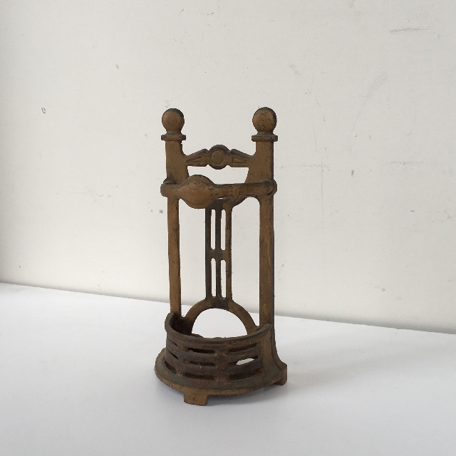 UMB0010 UMBRELLA STAND, Hall Stand - 1940's Brass $15