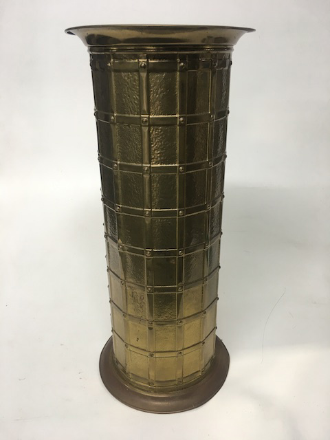 UMB0013 UMBRELLA STAND, Hall Stand - Brass Lattice $15