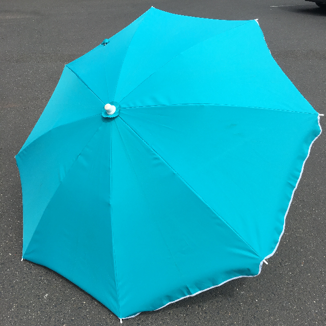 UMB0124 UMBRELLA, Beach - Turquoise $18.75